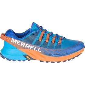 Merrell Agility Peak 4 Sko Herrer, blå/farverig